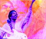 Jimi Hendrix at Woodstock by kikiwhite-holmes