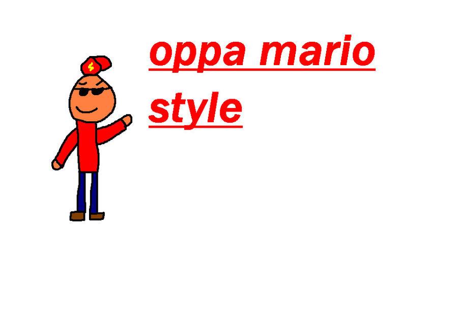 mario style by rayotenpera