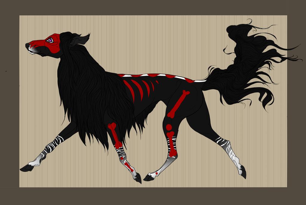 ID 299 For FatesSpirit - Akila Hound by FatesSpirit