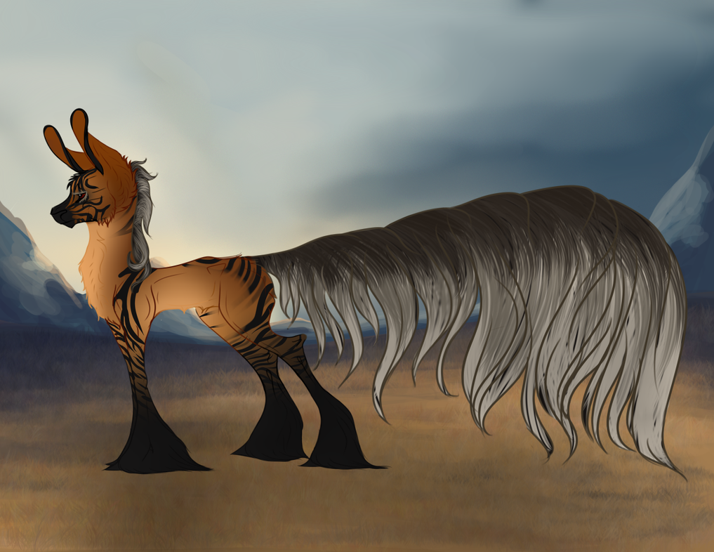 Harimau - Old Ref by FatesSpirit