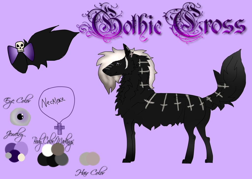 Gothic Cross | Ref for Stolen-Angell by FatesSpirit