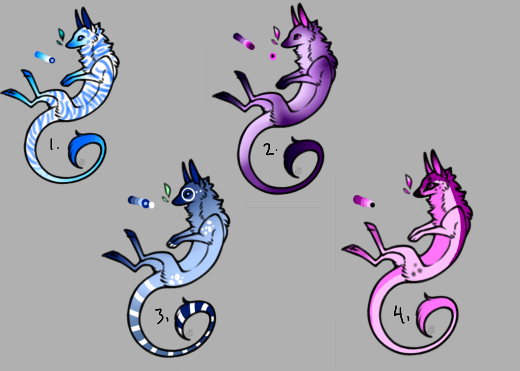 Batch 1 - Open - Freinn Dragons by FatesSpirit