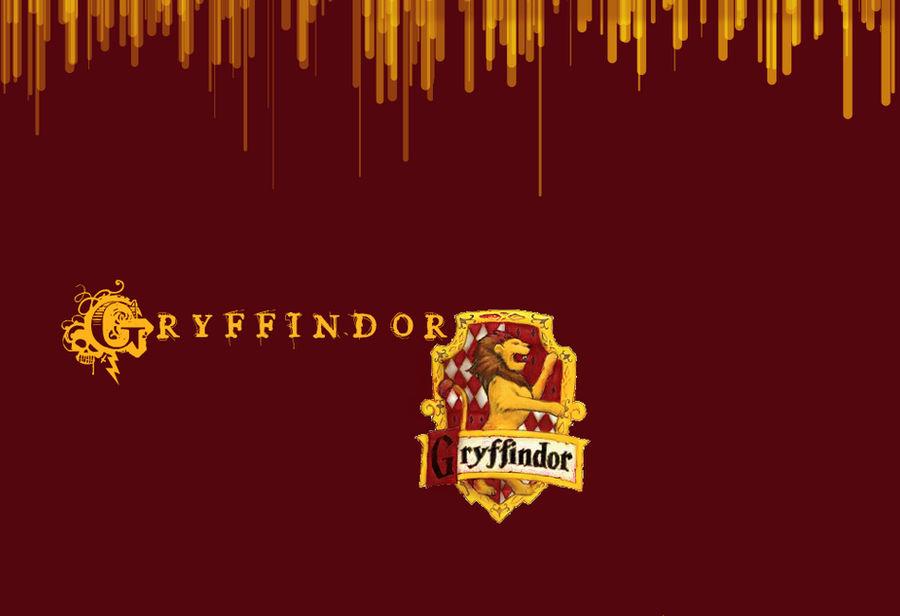 Gryffindor Wallpaper -w:logo- by Taylor