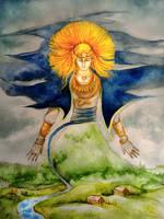 The Latvian Sun - Saule by Dysharmonnia