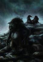Latvian Mythology - Sumpurnis (ENHANCED) by Dysharmonnia