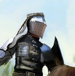 Knight study by kookri