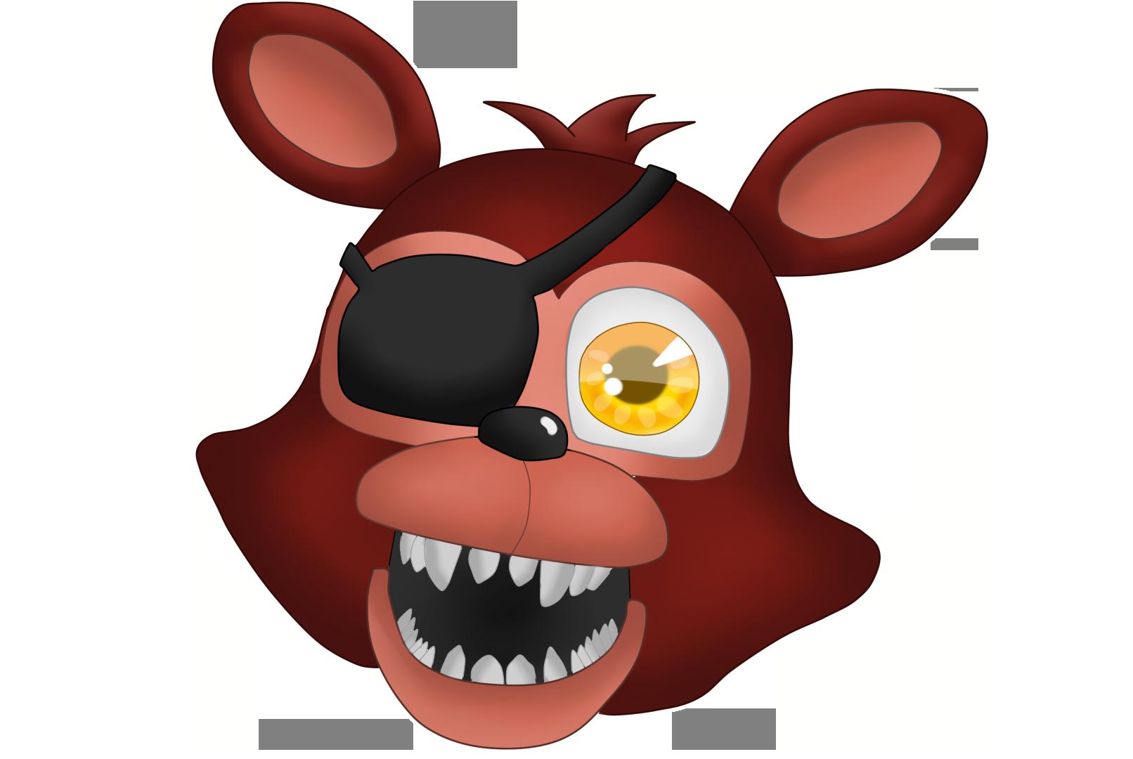 Adventure Foxy Head W/ Speedpaint By BodewigX On DeviantArt