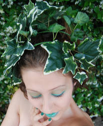 Self Portrait:  Green by MarilynFaye