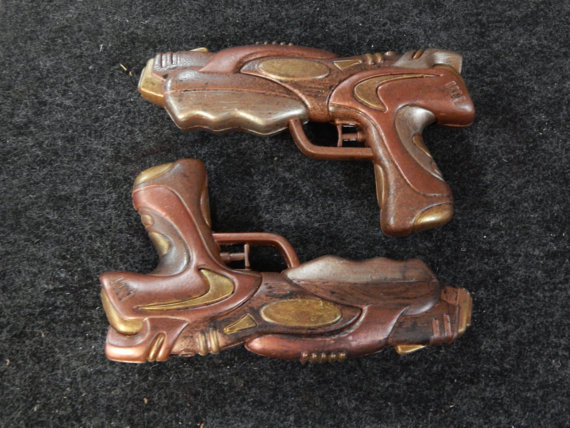 Steampunk Guns - Matching set by MarilynFaye