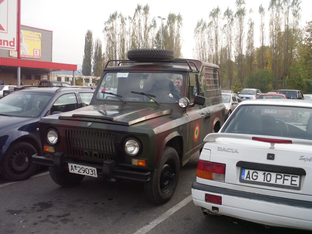 old 4x4 car (ARO) used by terestrial romanian army by luciange on ...