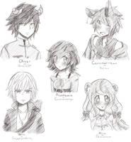 Sketch Requests by CuteNikeChan