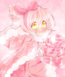 Pink Winter by CuteNikeChan