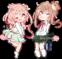 Comm Batch: Chokibelle by CuteNikeChan