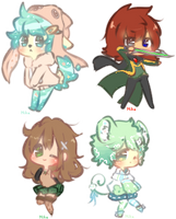 Teeny Cheebi Comm Batch 9 by CuteNikeChan