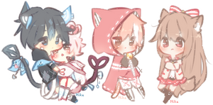 Teeny Cheebi Comm Batch 10 by CuteNikeChan