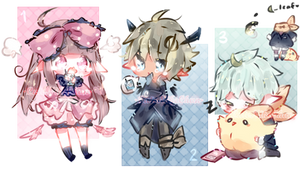 [Closed] Free Adopts!! - All gone! by CuteNikeChan
