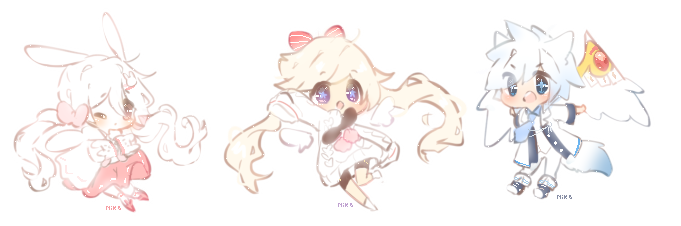 Teeny Cheebi Comm Batch 11 by CuteNikeChan