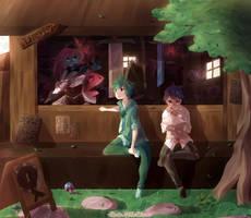 Merchant + speedpaint by CuteNikeChan