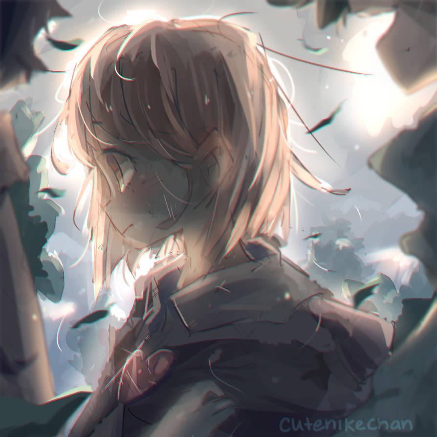 Returning by CuteNikeChan