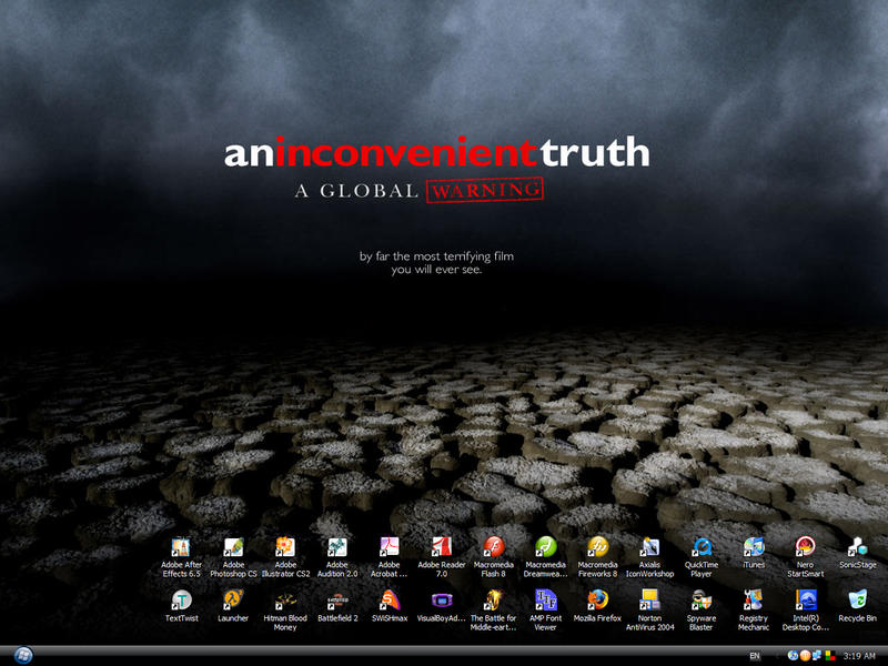 An Inconvenient Truth WallPP by reubenteo