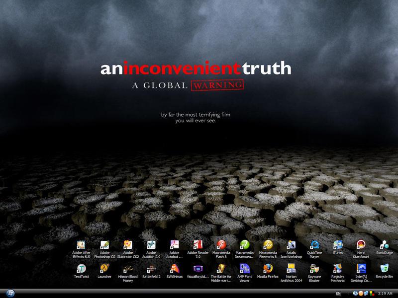 An Inconvenient Truth WallPP by reubenteo