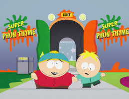 Cartman and Butters by Lawliet07