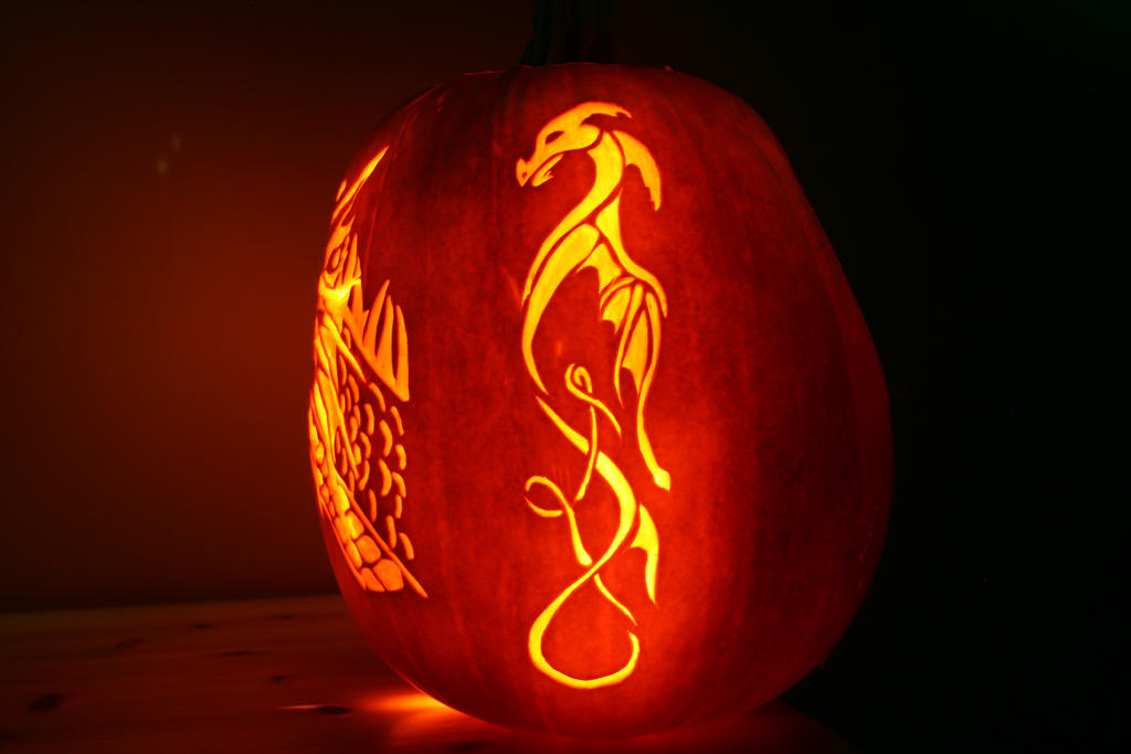 Great Dragon Pumpkin Carving Templates Gallery - Example Resume ...