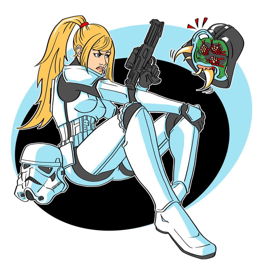 Stormtrooper Suit Samus by lorraine-schleter