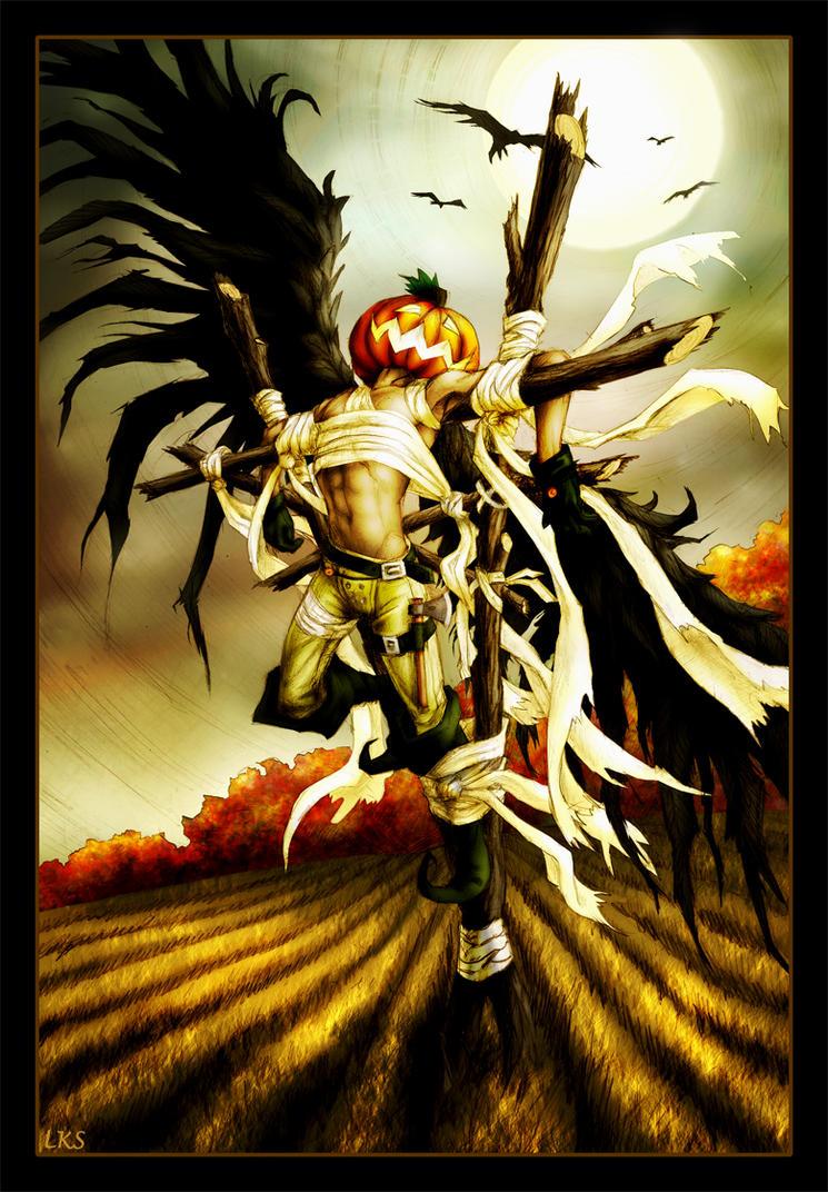 Angel of Autumn by lorraine-schleter