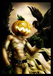 A Friend of the Autumn Angel by lorraine-schleter