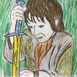 Bilbo Baggins by sophiexxth