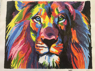 Lion Art by sophiexxth