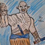 Azog the Defiler by sophiexxth