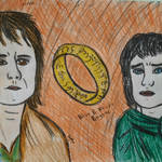 Bilbo and Frodo by sophiexxth