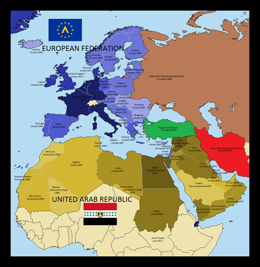 The Mediterranean Cold War by Silas-Coldwine