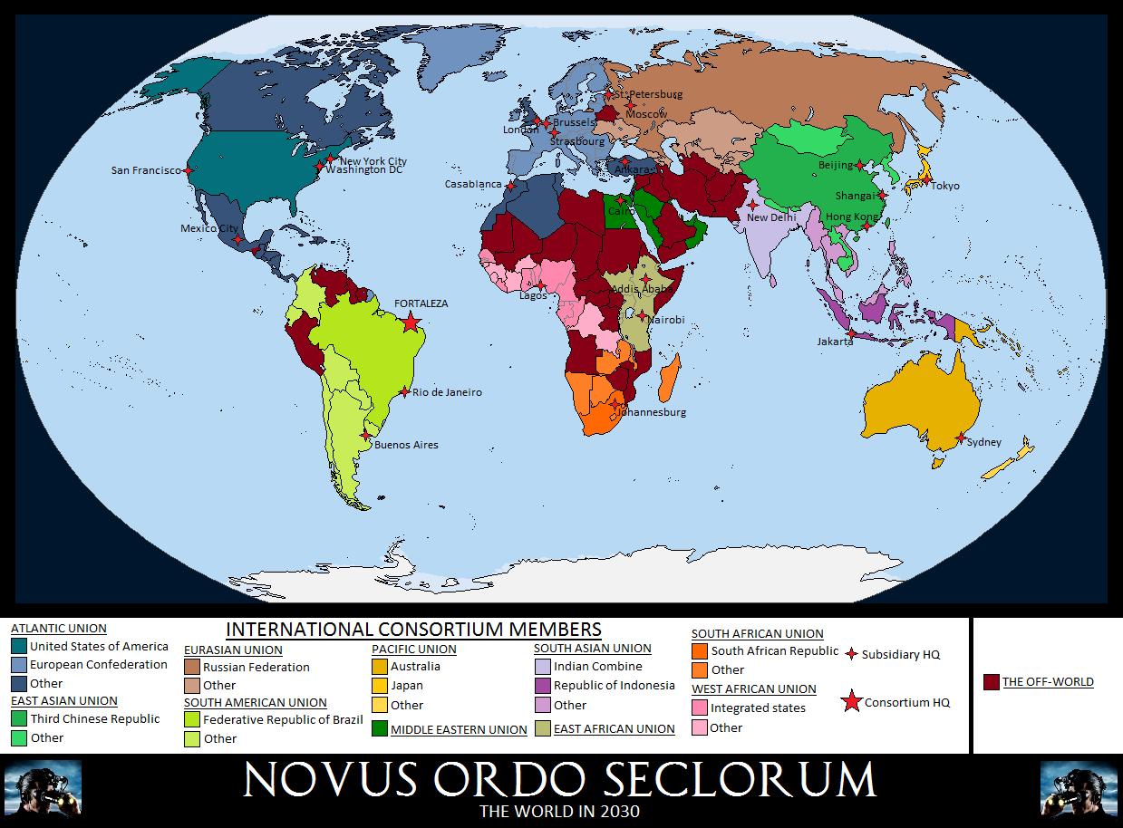 Novus Ordo Seclorum by Silas-Coldwine