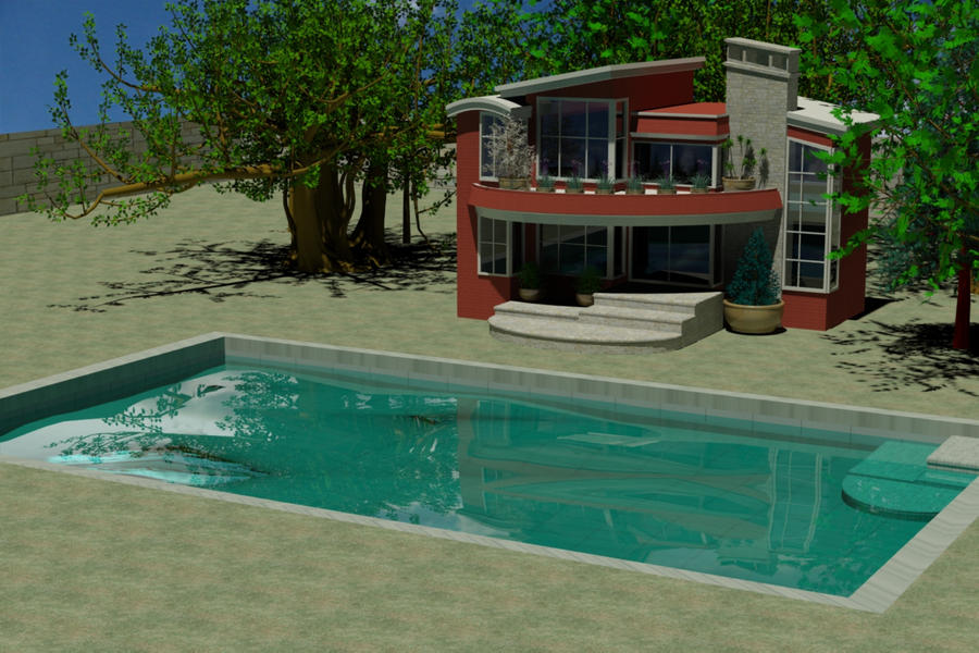 My Dream House Worked With 3ds Max By Salasjessy On