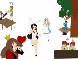 Tsumugi in Wonderland by AniimeOCD