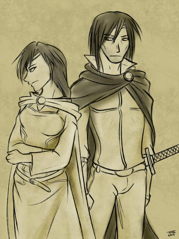 Nynaeve and lan