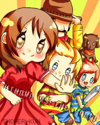 Hinawa VS The World by Shower-kun