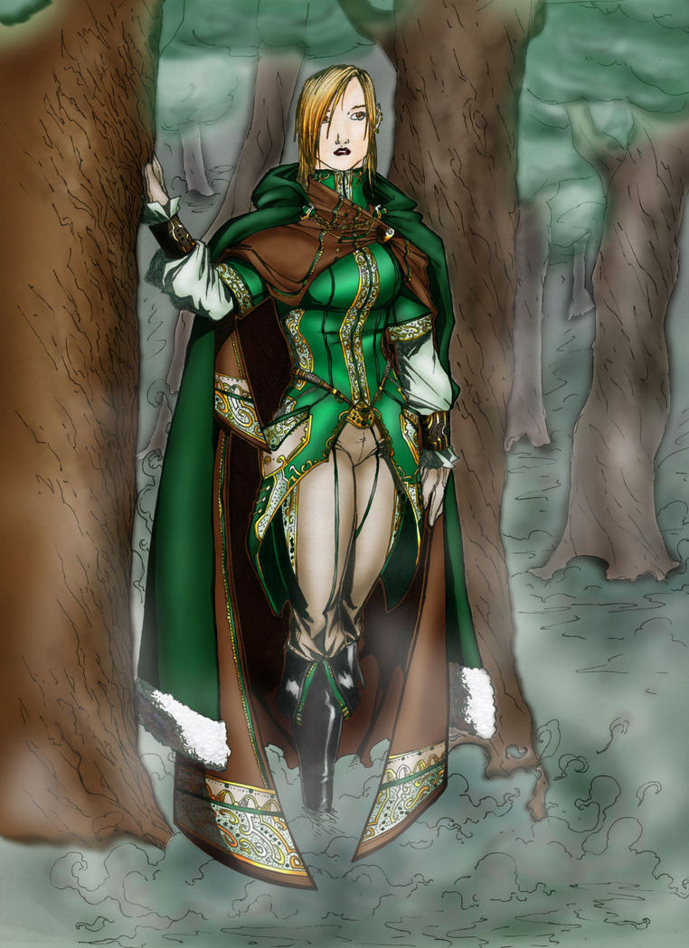 MadTincho - In the Woods-Color by sweetkitten