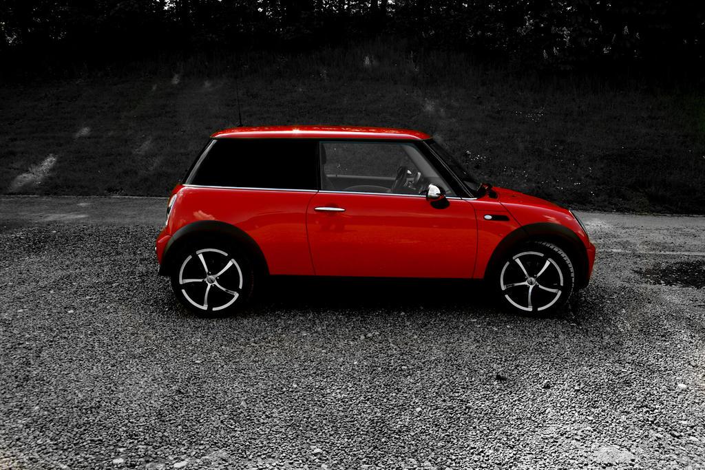 Mini Cooper Black, White, Red By Pgene On DeviantArt