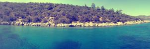 A silent bay in Turkey