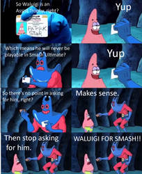 Waluigi Will NEVER Be In Smash Ultimate!!