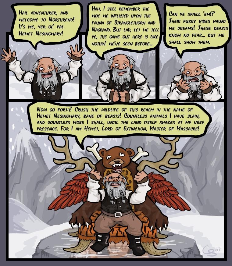 Nesingwary's Hunt by CraftyTibbles