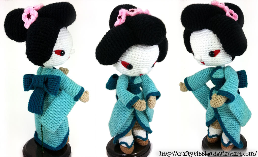 Amigurumi Free Patterns Geisha : Geisha by CraftyTibbles on DeviantArt