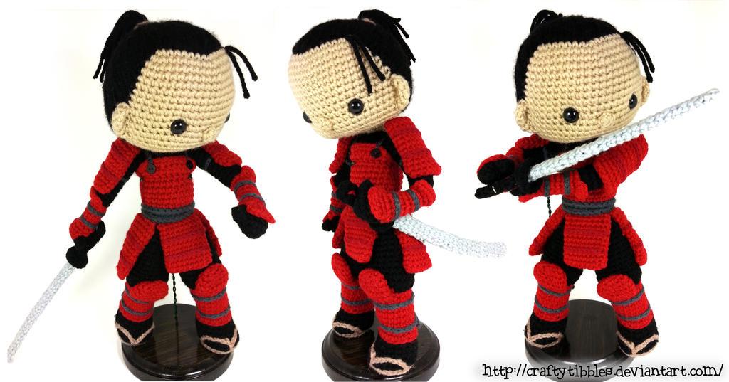 Samurai by CraftyTibbles