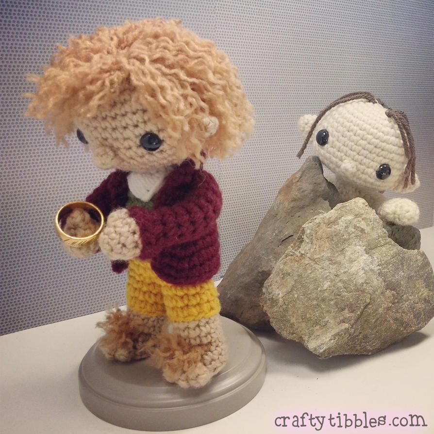 Tricksy Hobbitses by CraftyTibbles