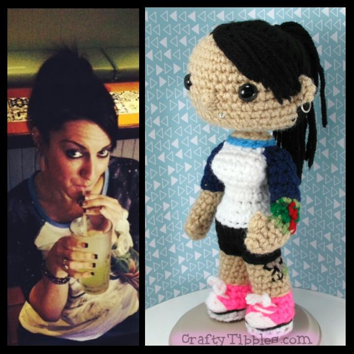 Custom Crochet - Amy by CraftyTibbles