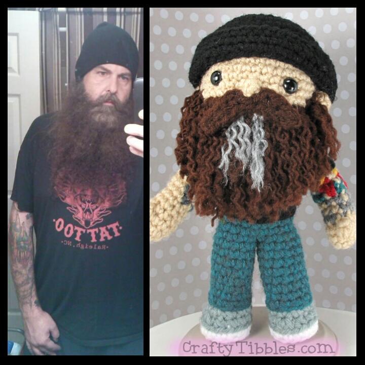 Custom Crochet - Rob by CraftyTibbles